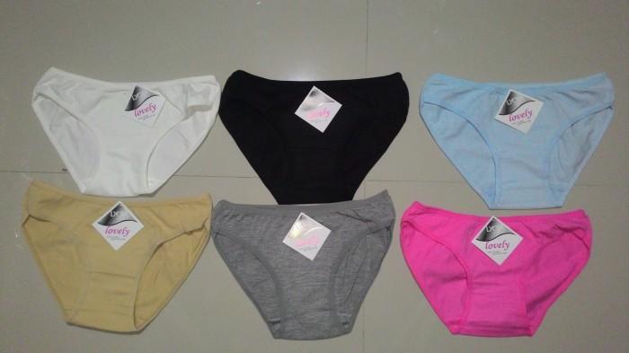 Jual Celana Dalam Wanita Lovely Remaja Abg Mahasiswi Motif Polos ... 2773592ac1