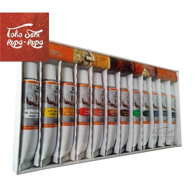 Jual Cat Minyak Maries Cat Lukis Oil Colour Painting 12pcs Tube Kab Bandung Barat Toko Seni Rupa Rupa Tokopedia