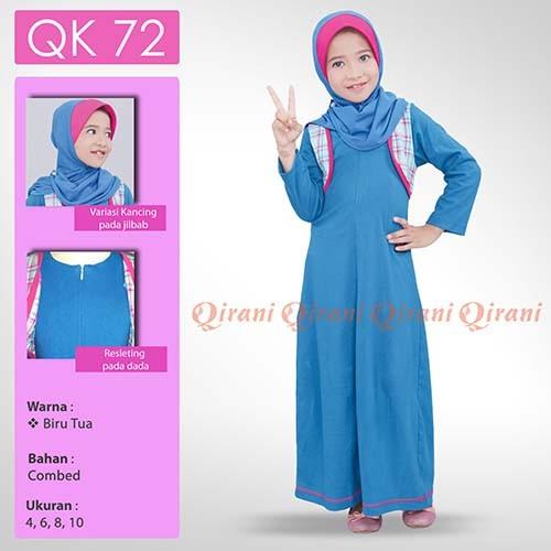 Jual Gamis Qirani Kids 72 Dress Anak Muslim Shera Busana Tokopedia