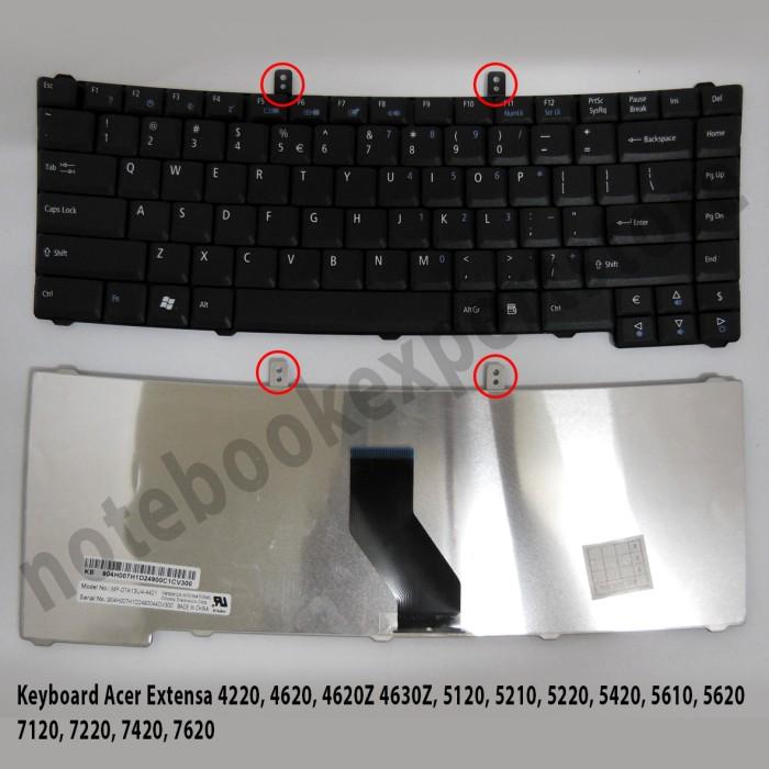 Foto Produk Keyboard Acer Extensa 4220, 4620, 4620Z 4630Z, 5120, 5210, 5220 dari notebookexpert