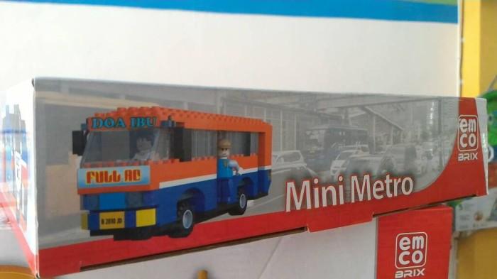 Lego Emco Brix Metro Mini Special Edition.
