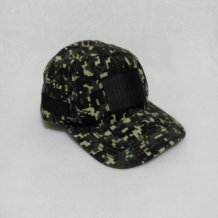 ... harga Topi security   satpam polos kanvas army   loreng ada perekat  Tokopedia.com e12f888c82