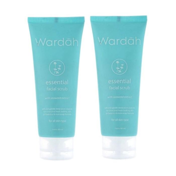 Wardah Essential Facial Scrub 60 ml