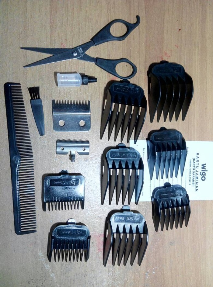 Wigo W 520 Hair Clipper Pencukur Rambut Gold Silver - penjualan dan ... e0562c1e30