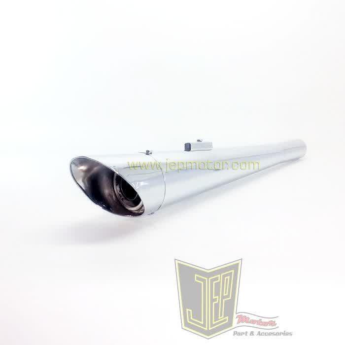 harga Knalpot japstyle custom model harley corong Tokopedia.com