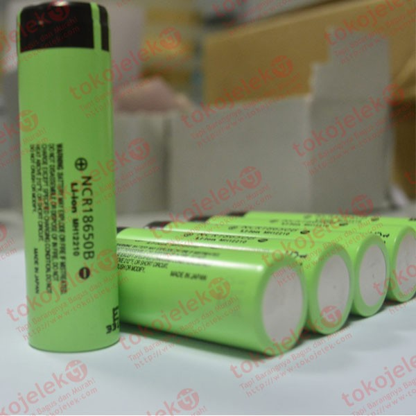 harga Panasonic ncrb ncr18650b 3400mah 4a baterai li-ion 18650 original flat Tokopedia.com