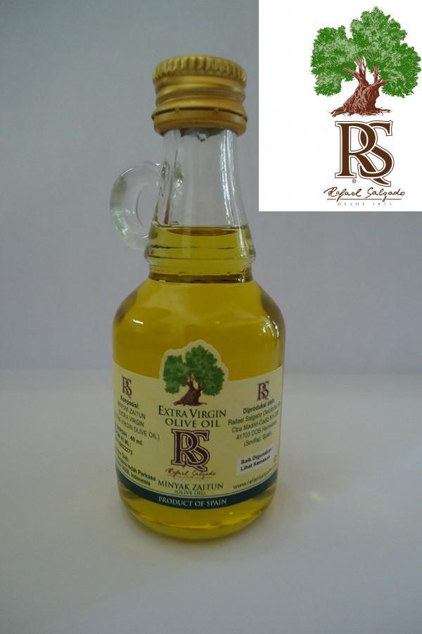 Foto Produk Minyak Zaitun Rafael Salgado RS 40 ml Ekstra Virgin Olive Oil  dari Distributor Herbal Jkt