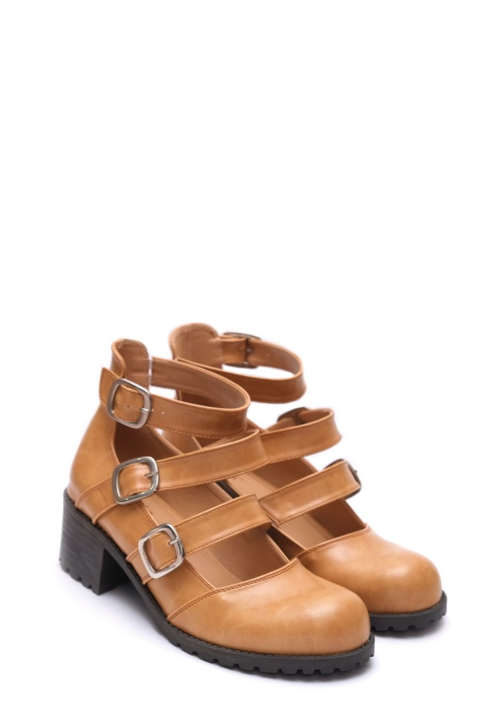 Boots Callen 201 CAMEL by BROCKTON Shoes ...