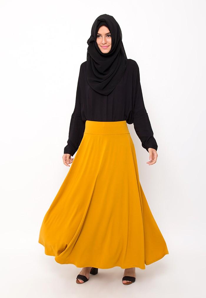 Jual Umbrella Skirt Mustard Rok Payung Jersey Kuning Jv Hasanah