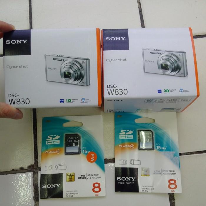 harga Sony cybershoot dsc-w830 resmi Tokopedia.com