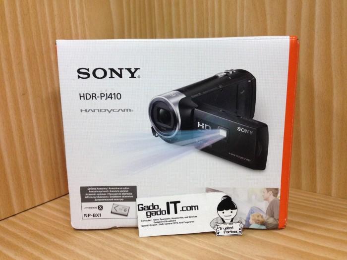 harga Hd handycam/camcorder sony hdr-pj410(9.2 mega pixels) with projector Tokopedia.com