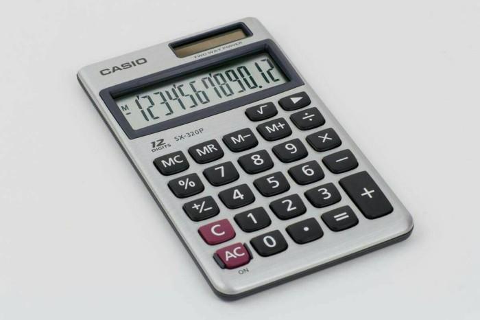 Info Kalkulator Casio 12 Digit Travelbon.com