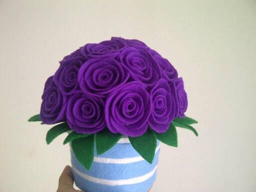 Flanel Merasa Parfum Hiasan Bunga Sutra Bunga Bunga Daftar Harga Source · Bunga pot flanel