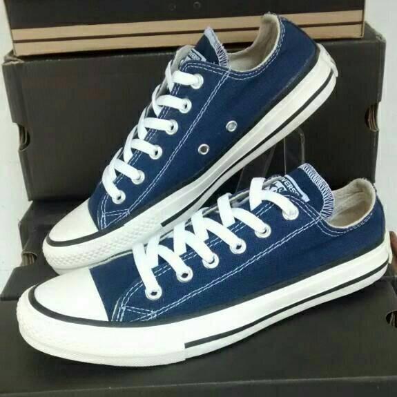 Jual Grosir Sepatu Converse all star biru - Toko Ikhtiar  2c9c464505