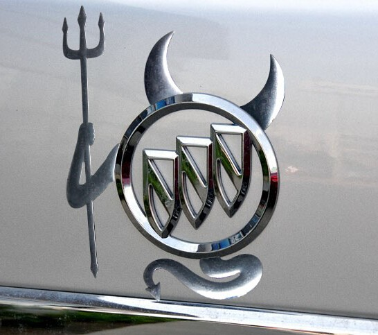 Jual Sticker Emblem Logo Mobil Unik 3d Devil Keren Chank Store