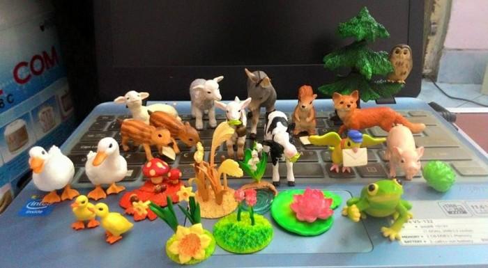 harga Ecer re-ment animal satuan binatang hewan diorama miniatur Tokopedia.com