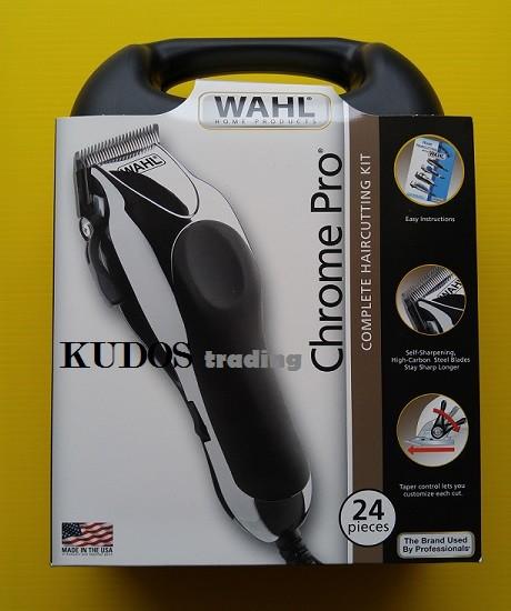 Jual Wahl Chrome Pro USA Original Alat Mesin Cukur Pangkas Rambut ... 53cbe0ab58