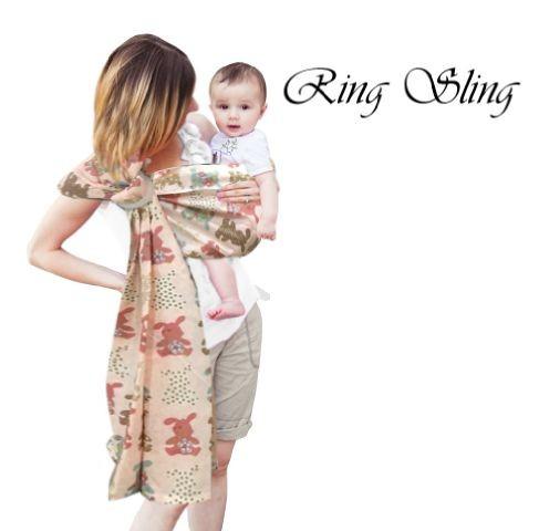 Petite mimi ring sling katun | gendongan bayi