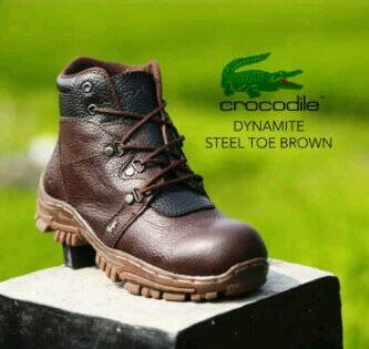 harga Sepatu Safety Boot King Crocodile Kulit Asli Tokopedia.com