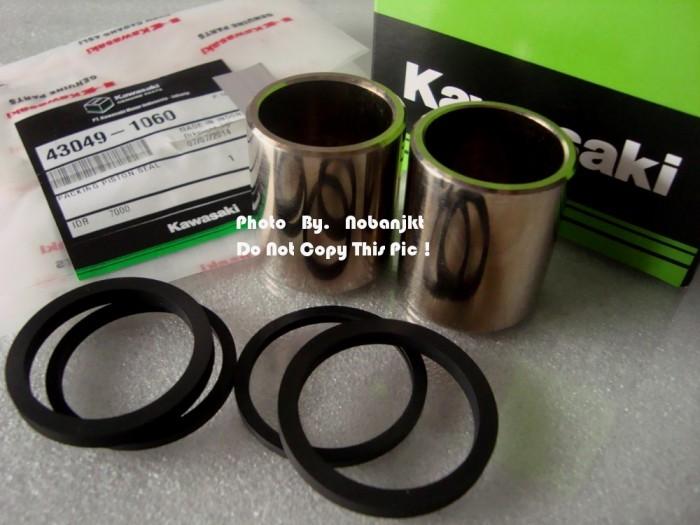 harga 1 Set Piston+oring Kaliper Rem Ninja Rr-r 150 Ori.kawasaki Tokopedia.com