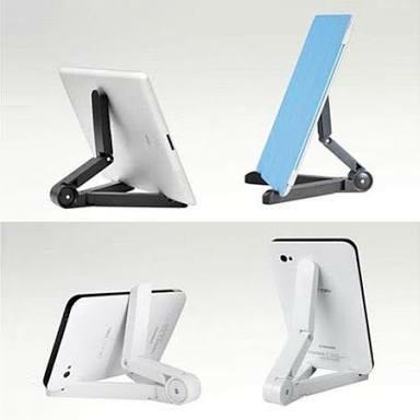 Foto Produk Portable Fold-Up Stand 4-11 Tablet, Holder IP Tablet, Penyangga Tablet dari OutletRyan