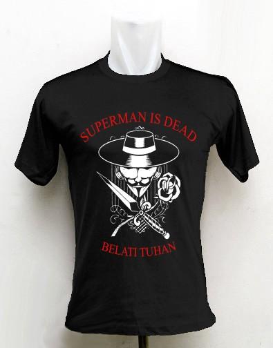 harga Kaos superman is dead Tokopedia.com