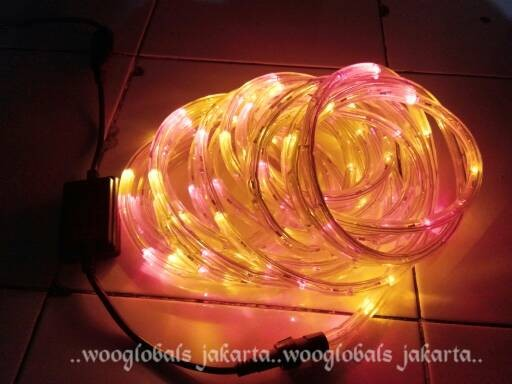 harga Lampu hias selang led warna 10 meter  +controller flasher hilios Tokopedia.com