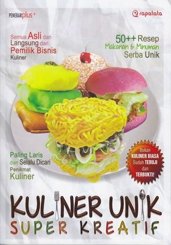 harga Buku kuliner unik super kreatif - (penebar plus - buku resep) Tokopedia.com
