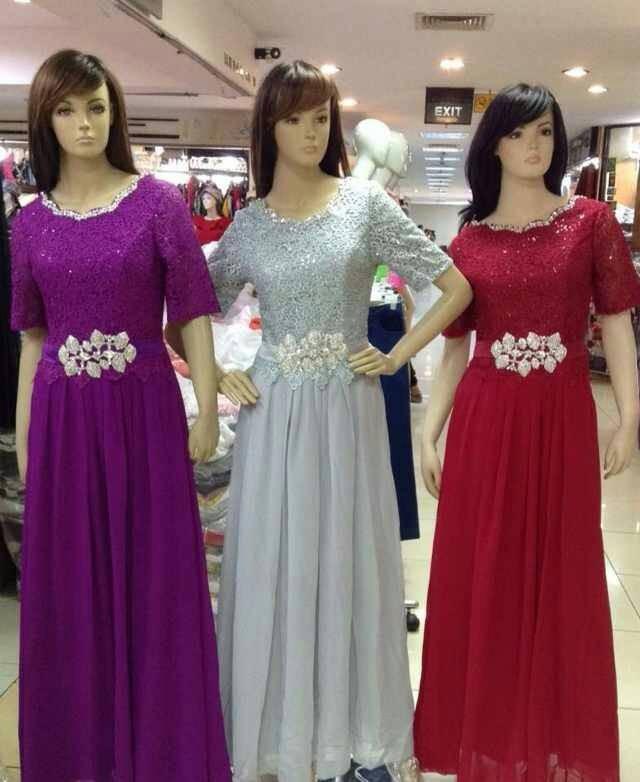 Jual Longdress Gaun Pesta Panjang Dress Pesta Import Baju Pesta