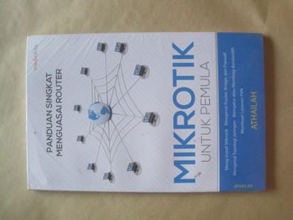 harga Panduan singkat menguasai router mikrotik untuk pemula Tokopedia.com