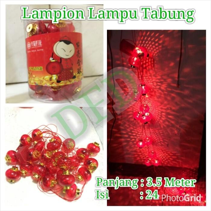 harga Lampion imlek / lampion lampu tabung ( isi : 24 pc ) uk : 6cm Tokopedia.com