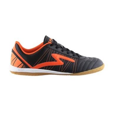 Jual Sepatu Futsal Specs Horus Hitam Orange Kota Kediri