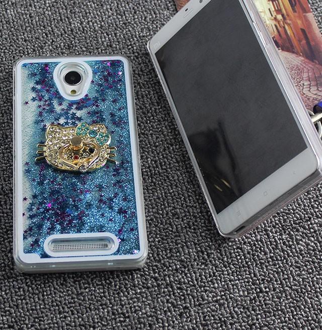 harga Xiaomi redmi note 2 aquarium glitter sand hardcase +blink kitty holder Tokopedia.com