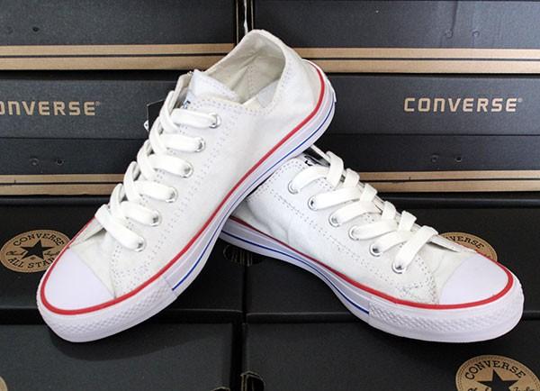 Jual sepatu Converse Allstar White (keren 4f4aa31fc4