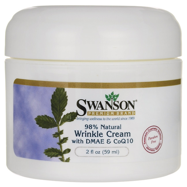 harga Swanson Premium Wrinkle Cream With Dmae & Coq10, 98% Natural, Usa Tokopedia.com