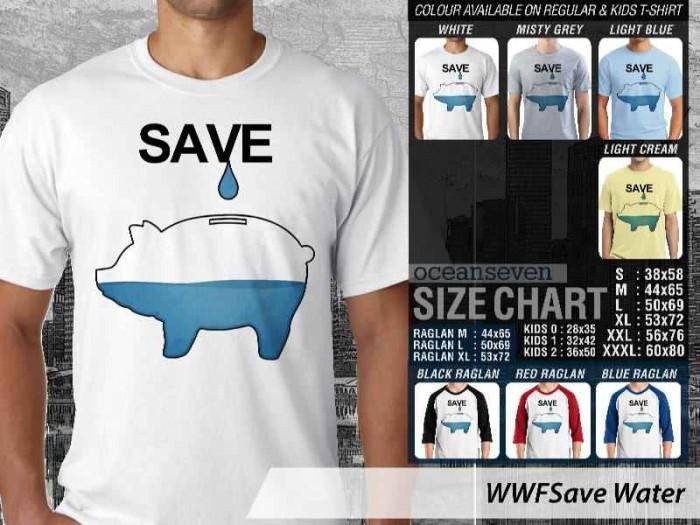 harga Kaos wwf - save water Tokopedia.com