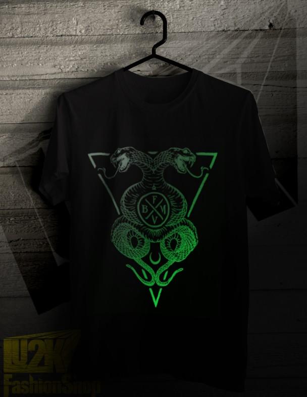 harga Bullet for my valentine snake venom 2 glow in the dark kaos ca-l2k75 Tokopedia.com