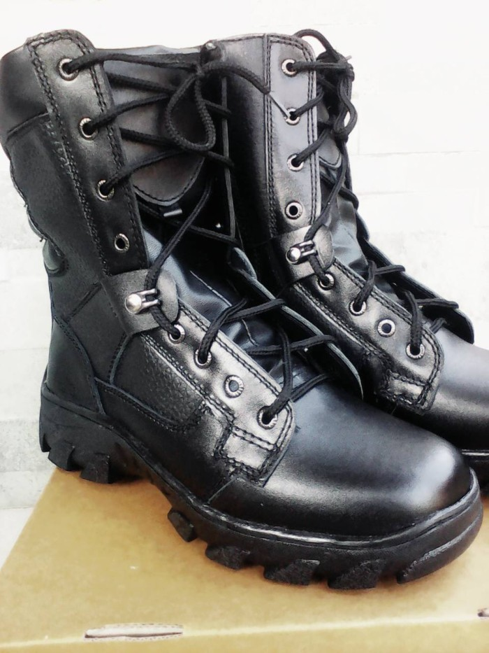 harga Sepatu pdl-g kulit  double safe Tokopedia.com