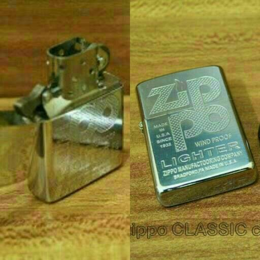 Korek Api Zippo Grafir Denting 2X Suara