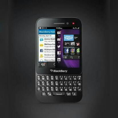 Blackberry q5 black - garansi 2 tahun distributor