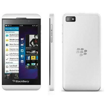 Blackberry z10 white - garansi 2 tahun distributor