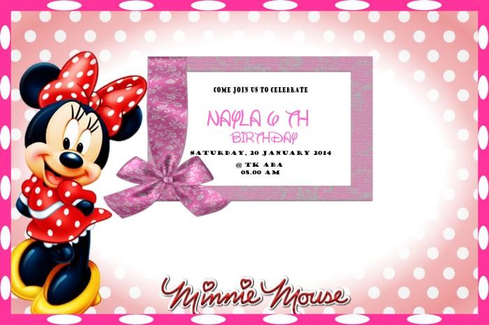 kartu ucapan ulang tahun mickey mouse  kartu ucapan keren