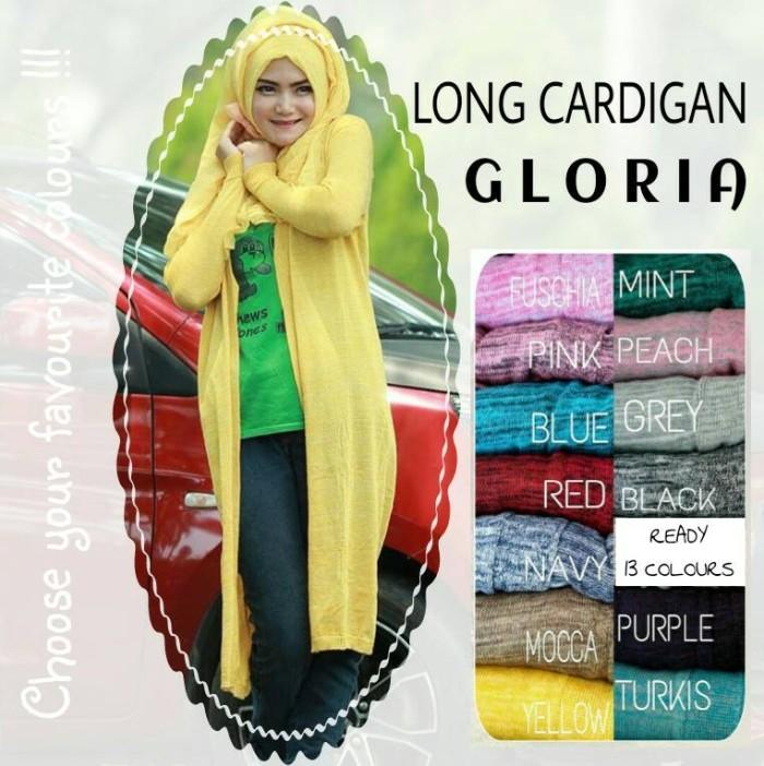 harga [sale] gloria long cardigan rajut panjang Tokopedia.com