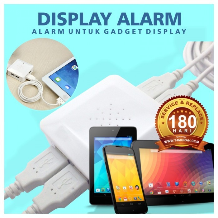 harga Display security alarm 4 port pengamanan display hp Tokopedia.com