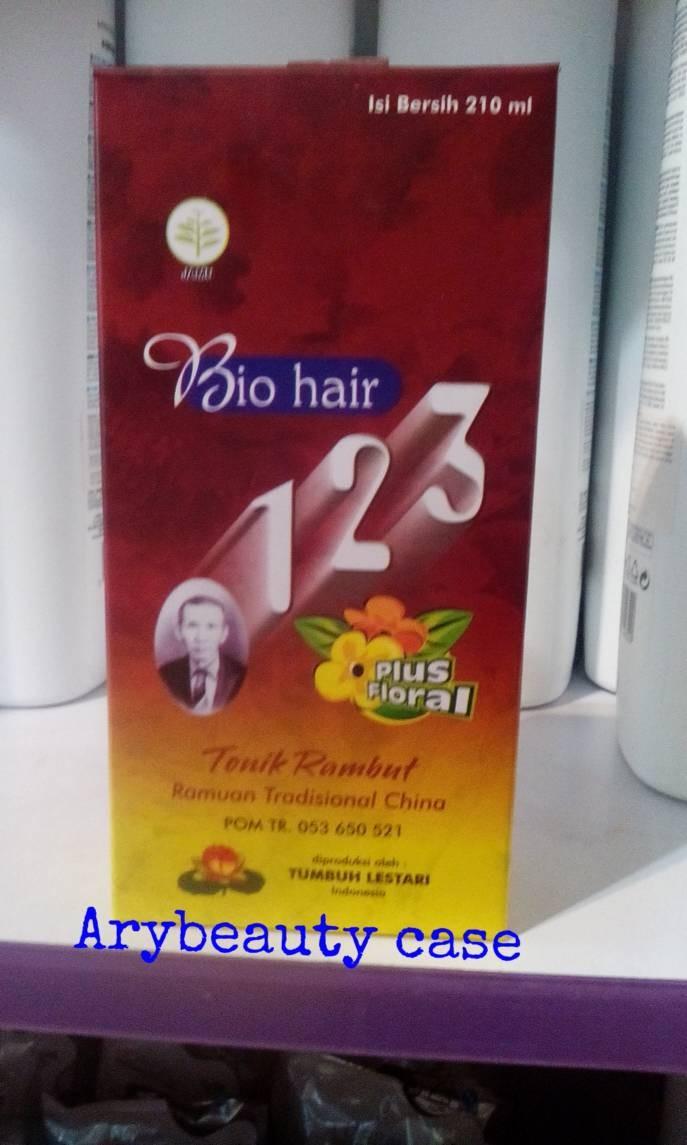 harga Hair tonic bio hair 123  plus floral Tokopedia.com
