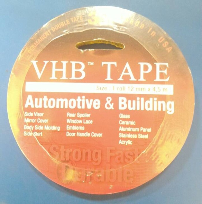 harga Double tape 3m vhb tape 12mmx4.5meter Tokopedia.com