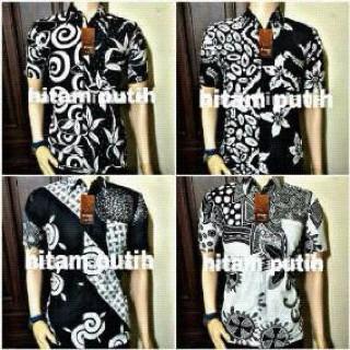 modern black white. simple black hem monochrome black white hitam putih modern kemeja batik cowok and modern black white n
