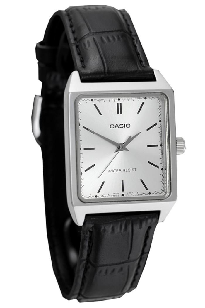 harga Jam tangan pria analog strap leather original casio mtp-v007l-7e Tokopedia.com