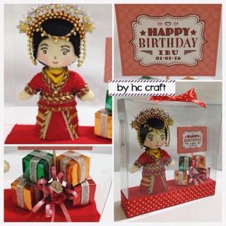 Jual Hadiah Ulang Tahun Di Hari Ibu Kado Boneka Hana Craft Tokopedia
