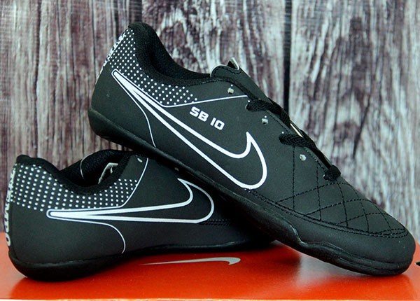 da083bf4f Jual Sepatu Futsal Nike Tiempo SB 10 Hitam (Bola